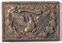Union Officer's Civil War Belt Plate