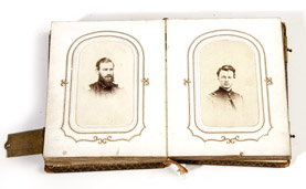 Civil War CDV Photo Album