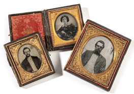 Civil War Ambrotype Photos