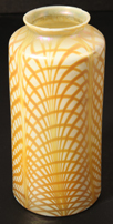 Unusual Luster Art Glass Shade