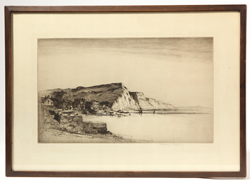 Albany E. Howard (American) Etching