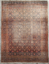 Antique Room Size Oriental Rug
