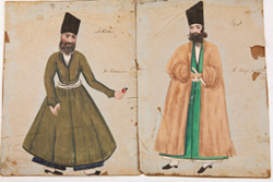 Persian Watercolor Portraits