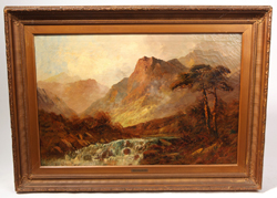 Alfred De Breanski Sr. (UK) Oil Painting