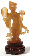 Carved Chinese Hardstone Figure