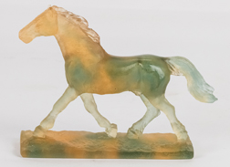 Daum Nancy Horse Sculpture