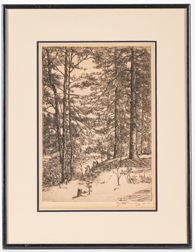 E. T. Hurley Etching
