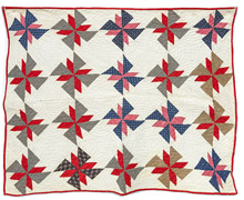 Early Pieced Crib Quilt