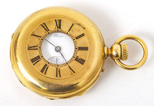 Very Rare Charles Henry Groslaude & Cie Repeater 18k Gold Pocket Watch