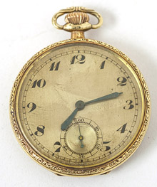 Bulova 14k Gold Pocket Watch