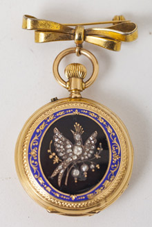 European 18k Gold Pocket Watch