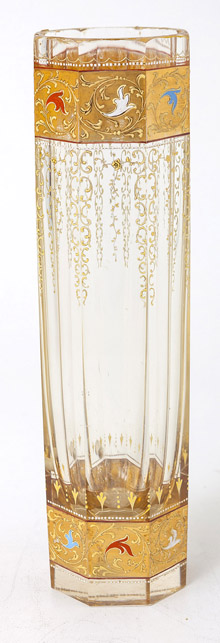 Moser Art Glass Vase