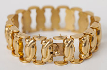 High Quality Designer 18k Gold Bracelet