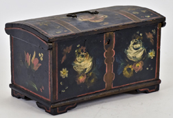 Miniature Decorated Blanket Chest