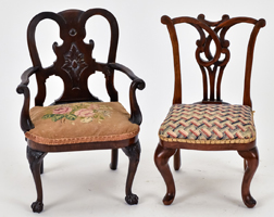 Two Miniature Chairs