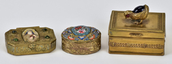 Three Fine Miniature Boxes