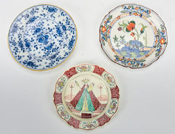 Three Early Delft Type Plates