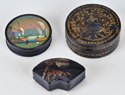 Three Snuff Boxes