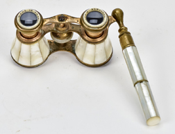 French MOP Opera Glasses