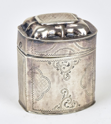 French Silver Snuff Box