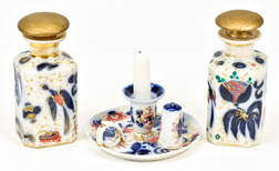 Three Pieces of Gaudy Welsh Porcelain