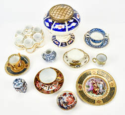 Group of English & Continental Porcelain