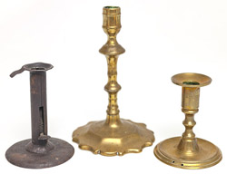 Three Early Candlesticks