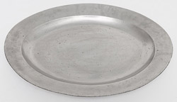 Large Pewter Meat Platter