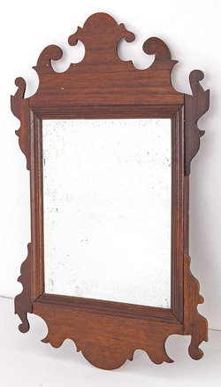 Mahogany Period Chippendale Mirror