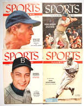 Four Sports Illustrated w/ Dodger Covers