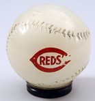 1950's Reds-Mobil Gas Baseball Bank
