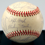 1978 Detroit Tigers Autographed Ball