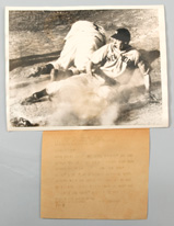1939 Joe Dimaggio Original AP Photo