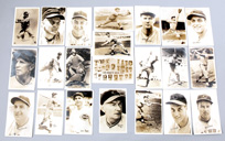 22 1937-39 Orcajo Reds Postcards