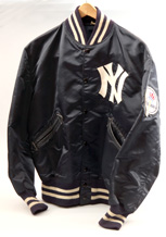 Official Yankees Jacket Presented by George Steinbrenner in 1973.