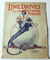 Rare 1910 Pittsburg Pirates Line Drives Yearbook