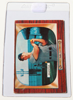 1955 Bowman #202 Mickey Mantle Card