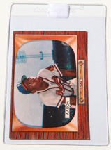 1955 Bowman #179 Hank Aaron Card