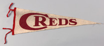 Early Cincinnati Reds Pennant
