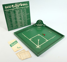 Scarce 1946 Baseball Board Game in Original Box