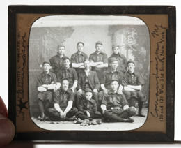 Circa 1880 -1900 Baseball Team Photo Slide