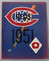 1951 Cincinnati Reds Yearbook