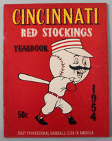 1954 Cincinnati Reds Yearbook