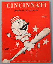 1955 Cincinnati Reds Yearbook