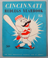 1956 Cincinnati Reds Yearbook