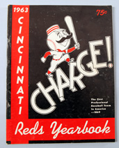 1963 Cincinnati Reds Yearbook