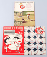 1967, 1968 & 1969 Cincinnati Reds Yearbooks