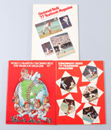 3 1976 & 1977 Cincinati Reds Yearbooks