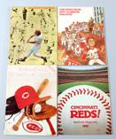 1978-1981 Cincinnati Reds Yearbooks