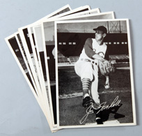 Eleven 1950's Cincinnati Reds Sohio Photo Premiums